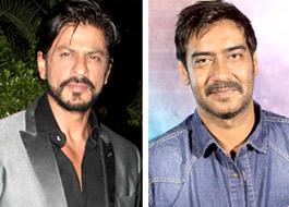 Shah Rukh Khan wishes Ajay Devgn all the best