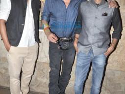 Faraz Ali, Jackie Shroff, Abbas Syed
