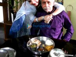 Charu Sharma, Naseeruddin Shah