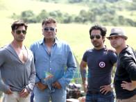Karan Singh Grover, Bhushan Patel, Abhishek Pathak