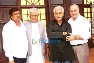 K.C. Bokadia, Om Puri, Naseeruddin Shah, Anupam Kher