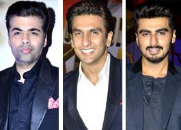 Karan Johar takes gay digs galore with Ranveer Singh and Arjun Kapoor