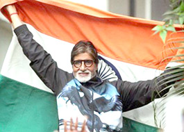 Amitabh Bachchan to sing National Anthem before the India - Pakistan match
