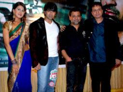 Photo Of Ashhmita,Deep,Anees Bazmee,Jiten Purohit From The Audio release of 'Diwangi Ne Had Kar Di'