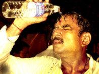 Movie Still From The Film Aakrosh,Paresh Rawal