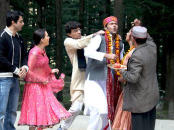 Movie Still From The Film A Flat,Sanjay Suri,Hazel,Nassar Abdulla