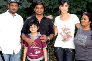 Photo Of Rajiv S. Ruia,Nandan Mohato,Katrina Kaif,Pomila Hunter From The Katrina Kaif shoots for 'Main Krishna Hoon' at Filmcity
