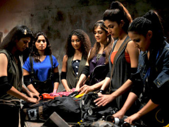 Movie Still From The Film United Six,Daisy Bopanna,Luna Lahkar,Isha Batwe,Parvathy Omanakuttan,Pooja Sharma
