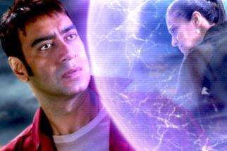 Movie Still From The Film Toonpur Ka Superhero,Ajay Devgn,Kajol