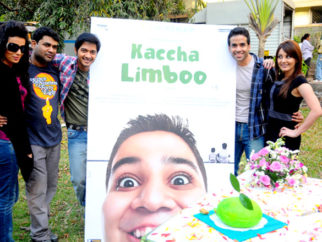 On The Sets Of The Film Kaccha Limboo Featuring Vinay Pathak,Sarika,Rukhsar,Chinmay Kambli,Armaan Malik,Atul Kulkarni,Taheer Sutarwala,Rajesh Khattar,Iravati Harshe,Bhairavi Goswami