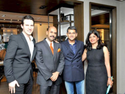Photo Of JD Ostrow,Sanjay Kapoor,Nalini Gupta From The Chitrangda Singh graces Burberry store launch in Delhi