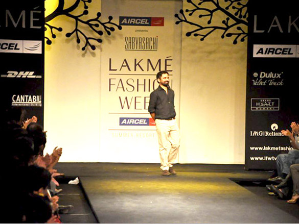 276c01287f1 Sabyasachi Mukherjee's show at 'Lakme Fashion Week 2011' Day 1 ...