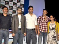 Photo Of Habib Faisal,Abhishek Sharma,Vikramaditya Motwane,Ranveer Singh,Kiran Rao From The Sonakshi, Ranveer, Kiran Rao and Karan at FICCI-FRAMES 2011 seminar