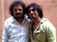 Photo Of Bikram Ghosh,Sonu Nigam From The Bikram and Sonu record together