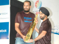 Photo Of Yusuf Pathan From The Dhoni, Yuvraj, Harbhajan and Pathan at Reebok event