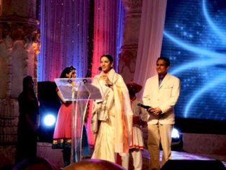 Photo Of Shabana Azmi,Tushar Dalvi From The Mugdha Godse and Shabana Azmi at Maharashtra Day celebration