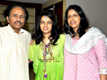 Photo Of Dr L Subramaniam,Bindu Subramaniam,Kavita Krishnamurthy From The Louis Banks releases Bindu Subramaniam's album 'Surrender'
