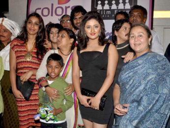 Photo Of Vaishali Thakkar,Ayub Khan,Gaurav Chopra,Rashmi Desai,Farida Dadi From The Uttaran success bash