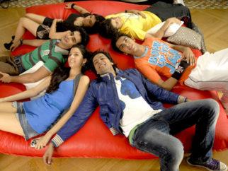 Movie Still From The Film Always Kabhi Kabhi,Zoa Morani,Satyajeet Dubey,Giselle Monteiro,Ali Fazal