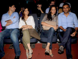 Photo Of Goldie Behl,Sonali Bendre,Gayatri Joshi,Vicky Oberoi From The Anil Kapoor and Sonali Bendre at Vir Das show