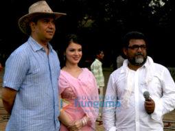 Photo Of Ashu Trikha,Urvashi Sharma,Abbas Ali Moghul From The Urvashi Sharma Shoots For Baabarr