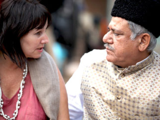 On The Sets Of The Film West is West Featuring Linda Bassett,Jimi Mistri,Emil Marwa,Ila Arun,Vijay Raaz,Om Puri,Lesley Nicoll,Aqib Khan