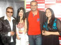 Photo Of Taz,Shibani Kashyap,Siddarth Kannan From The Launch of Prashant Shirsat's album 'Deva o Deva'