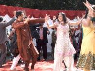 Movie Still From The Film Tere Mere Phere,Jagrat Desai,Sasha Goradia