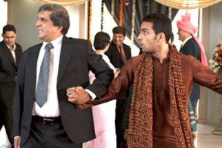 Movie Still From The Film Tere Mere Phere,Darshan Jariwala,Jagrat Desai,Sushmita Mukherjee