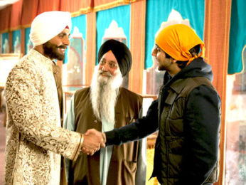 Movie Still From The Film Speedy Singhs,Akshay Kumar,Vinay Virmani