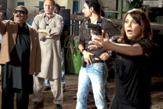 Movie Still From The Film Hum Tum Shabana,Satish Kaushik,Minissha Lamba