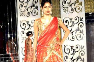 Photo Of Nethra Raghuraman From The Kangna walks for Jyotsa Tiwari at Aamby Valley City India Bridal Week 2011