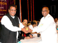 Photo Of Baldev Khosa,Bansilal From The Association of Cine & TV/AD Production Executives host 9th Annual Award 2011
