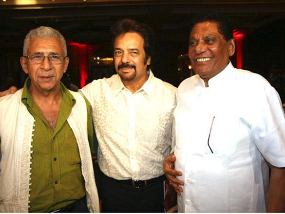 Photo Of Naseeruddin Shah,Akbar Khan,C.G.Patel From The Feroz Nadiadwala at NGO Anhad's event