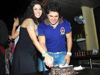Photo Of Tanaz Irani,Bakhtiyaar Irani From The Tannaz Irani's surprise birthday party for Bakhtiyaar Irani