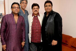 Photo Of Deepak Pandit,Ghanshyam Vaswani,Ashok Pandit,Tauseef Akhtar From The Musical tribute to Jagjit Singh