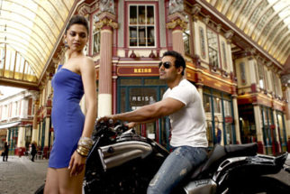 Movie Still From The Film Desi Boyz,Deepika Padukone,John Abraham