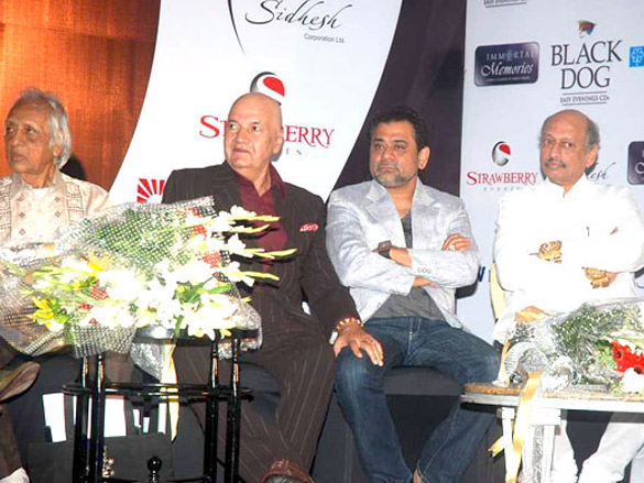 Photo Of Chandrashekhar,Prem Chopra,Anees Bazmee From The Bollywood legends honoured at 'Immortal Memories' event