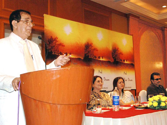 Photo Of Ashok Hingorani,Tabassum,Dharmendra From The Dharmendra launches Ashok Hingorani's book