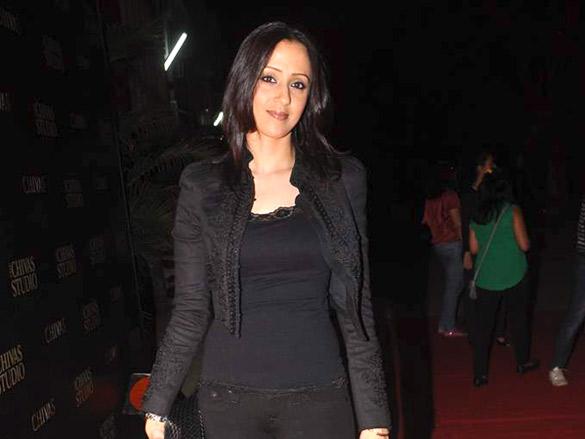 Photo Of Ishita Arun From The Abhishek, Lara and others at Chivas Studio