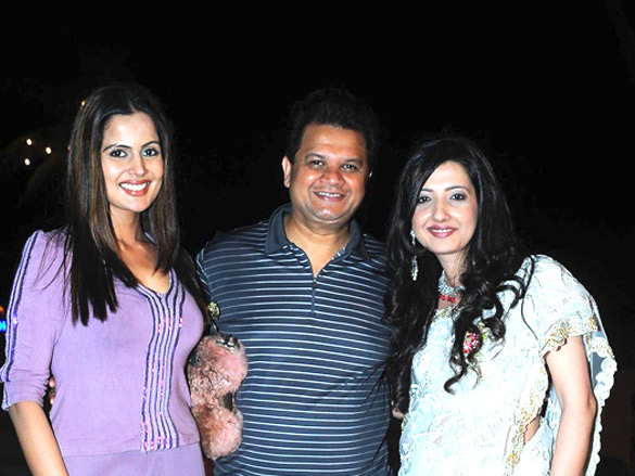 Photo Of Nandini Singh,Viren Shah, Ammy Billimoria From The Ammy Billimoria and Farzad Billimoria hosted a Navjyot Party