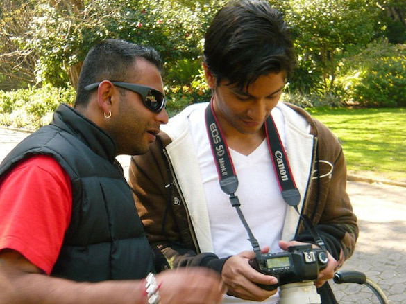 On The Sets Of The Film Blood Money Featuring Vishal Mahadkar,Kunal Khemu