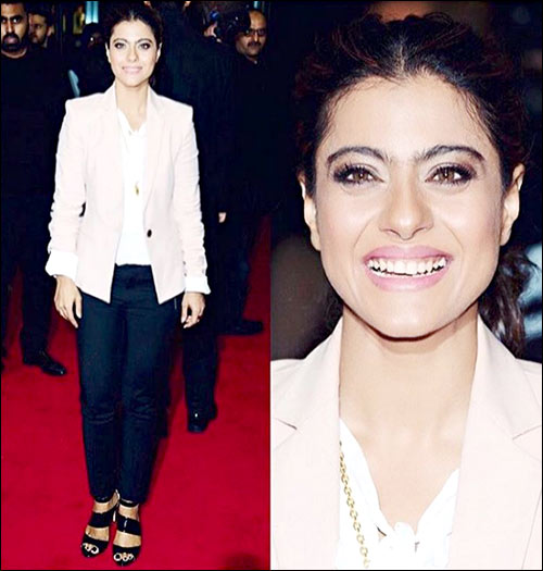 Check Out: Kajol's top 5 looks during Dilwale Promotions