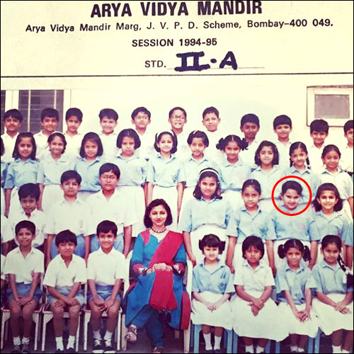 Check Out Sonakshi Sinha Shares Her School Picture