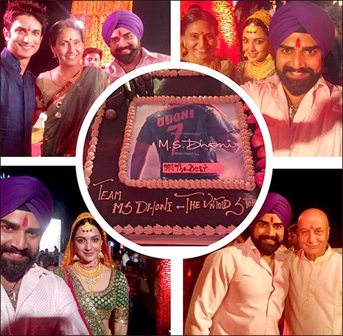 Check out: Sushant Singh Rajput shoots for the marriage sequence in