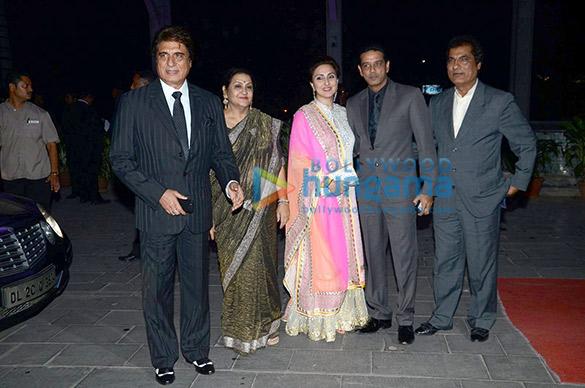 Raj Babbar, Nadira Babbar, Juhi Babbar, Anup Soni