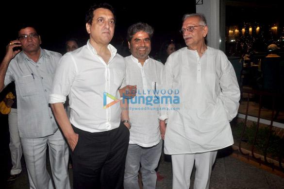 Sajid Nadiadwala, Vishal Bhardwaj, Gulzar