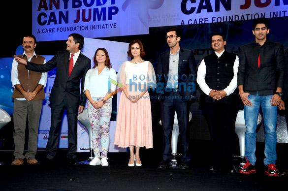 Rajkumar Hirani, Vikram Chandra, Dia Mirza, Ranbir Kapoor, Devendra Fadnavis, Vijender Singh