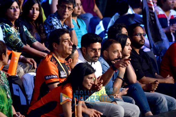 Zarina Mehta, Ronnie Screwvala, Rahul Bose, Abhishek Bachchan, Bunty Walia
