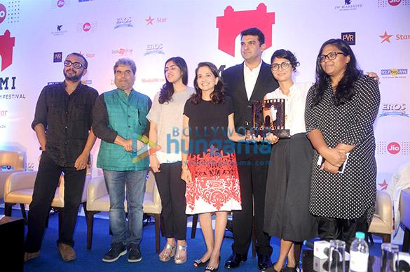 Dibakar Banerjee, Vishal Bhardwaj, Niharika Bijli, Anupama Chopra, Siddharth Roy Kapur, Kiran Rao, Smriti Kiran